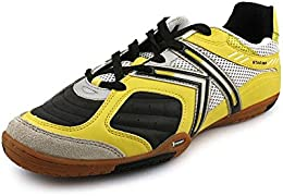 Star 360 Mens Michelin Leather Mesh Inset Soccer Shoes BlackLime 85 DM US