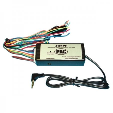 PAC Steering Wheel Radio Control Interface with Wired Input - Pioneer/Sony SWI-PS