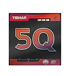 Tibhar 5Q Table Tennis Rubber - Black