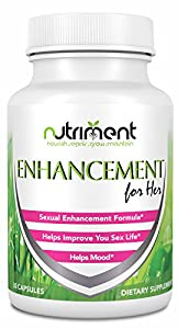 Enhancement For Her- Female Sexual Enhancement Pills- Increase Mood and Desire- Enjoy a More Pleasurable Sexual Experience- Unique and Natural Combination of Ingredients- Female Libido Enhancer