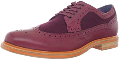 Cole Haan Men's Cooper SQ WingtipCORDOVAN/CORDOVAN WOOL7 M US
