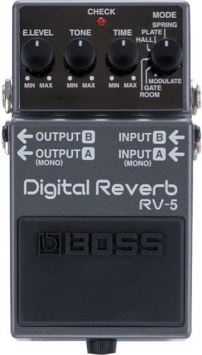 Boss RV-5 Digital Reverb Guitar Effects Pedal