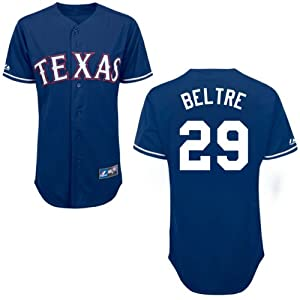 Adrian Beltre Texas Rangers Alternate Royal Replica Jersey by Majestic by Majestic