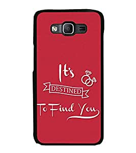 Love Quote 2D Hard Polycarbonate Designer Back Case Cover for Samsung Galaxy On7 G600FY :: Samsung Galaxy On 7 (2015)
