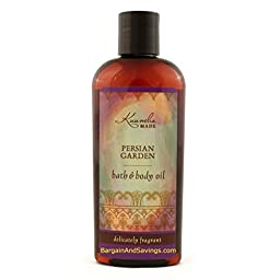 Kuumba Made Bath and Body Oil (Persian Garden, 6oz (177.44ml) [regular size])