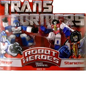 Robot Heroes Wave 01: Mirage Vs. Starscream