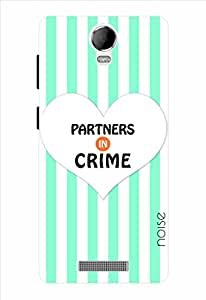 Noise Partners In Crime Lines Printed Cover for Micromax Juice 2