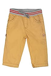 Chirpie Pie by Pantaloons Boy's Regular Fit Trouser(205000005610777, Yellow, 12-18 Months)
