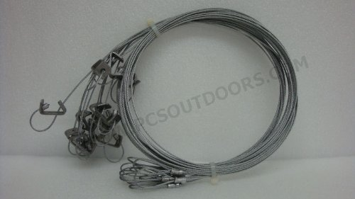 ausable-5-ft-3-32-coyote-fox-snare-with-sure-lock-looped-end-1-dozen