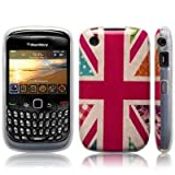 Blackberry Curve 8520 / 9300 'Hope and Glory' Union Jack (Designed by Creative Eleven) TPU Gel Skin / Case / Cover Part Of The Qubits Accessories Rangeby Qubits