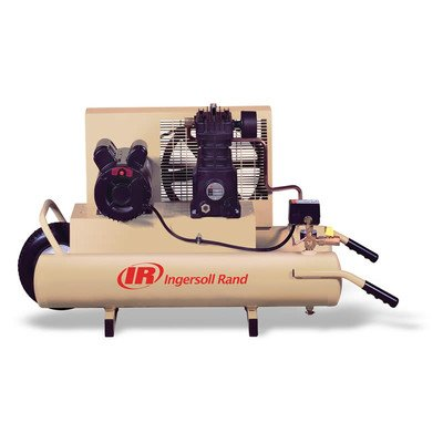 8 Gallon 3 Hp Wheelbarrow Twin-Tank Electric Air Compressor