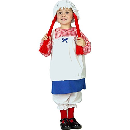 Lil Rag Doll Toddler Costume