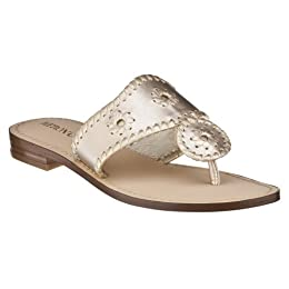 Product Image Women's Merona® Enid Whipstitch Flat Sandals - Gold