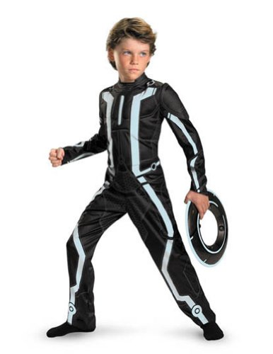 Tron Legacy Deluxe Child 7-8 Kids Boys Costume