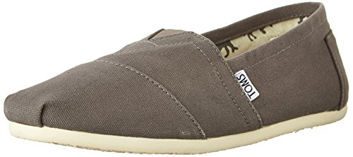 TOMS Men's Classic Canvas Slip-On,Ash Grey,11 M (Oasis Shoes Men compare prices)