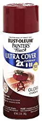 Rust-Oleum 249863 Painter's Touch 2x Acrylic Spray Paint - GLOSS CRANBERRY