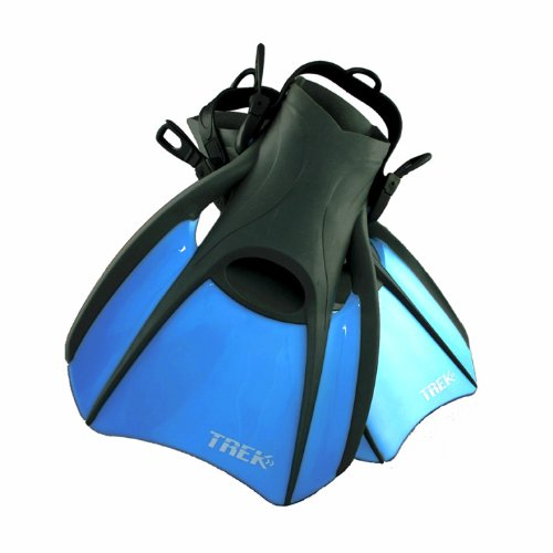 US Divers Trek Travel Fin (Large, Men's - 10-13/Women's - 11)