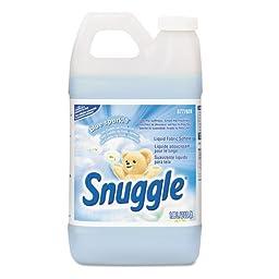 Snuggle Liquid Fabric Softener, 64 oz, Bottle - four bottles of fabric softener.