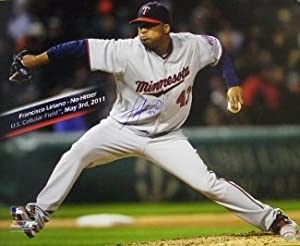 Francisco Liriano Autographed Hand Signed Minnesota Twins 16x20 Photo (May 3rd, 2011... by Hall of Fame Memorabilia