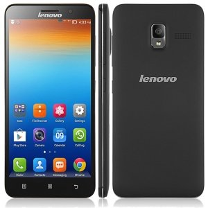 "(LENOVO)A850+ 5.5"" Android 4.2 MTK6592 Octa-core 1.4GHz 1GB + 4GB Smartphone Black"