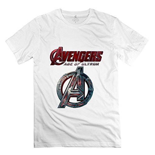 StaBe Man Avengers Age Of Ultron Logo T-Shirt O Neck Cool