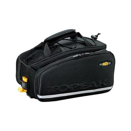 Topeak MTX Trunk Bag EXP w/ Rigid Molded Panels - Black - TT9632B