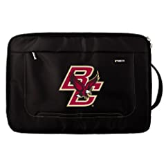 Buy NCAA Boston College Eagles Deluxe Nylon Laptop Sleeve for 15-Inch to 16-Inch Laptop or MacBook Pro by Tribeca Gear