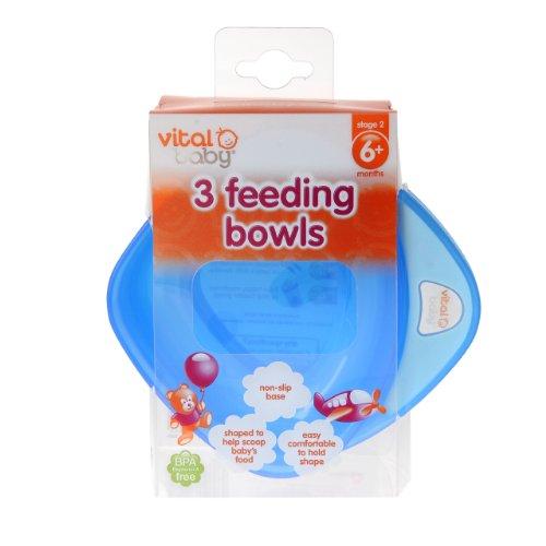 Imagen 4 de Vital Baby - Boles infantiles (3 unidades), color azul