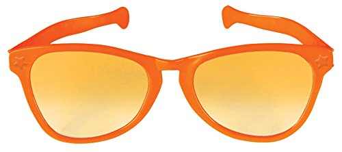 Orange Jumbo Glasses