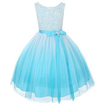 Amazon.com: Kids Dream Turquoise Ombre Rosette Special