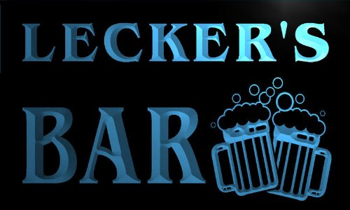 w046807-b-leckers-name-home-bar-pub-beer-mugs-cheers-neon-light-sign