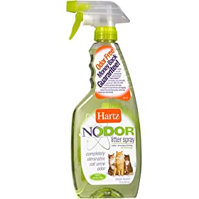 Hartz Nodor Litter Spray Reviews
