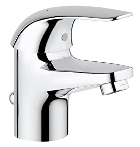 Grohe Mitigeur Lavabo Euroeco 32732000 (Import Allemagne)