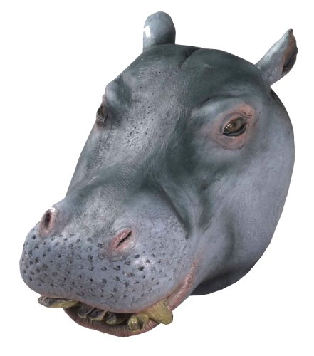 Forum Novelties Men's Deluxe Adult Latex Hippo Mask