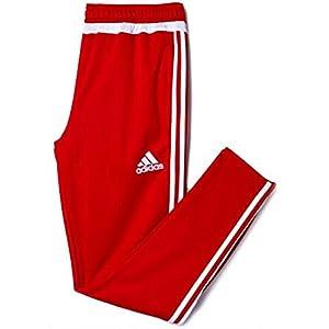 adidas Performance Men's Tiro 15 Training Pants, Red, Medium