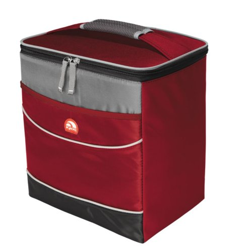 Igloo 55824/Red Soft 12 Can Insulated Cooler, Red