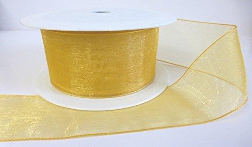 1-metre-trim-of-gold-sheer-organza-luxury-ribbon-40mm-wide