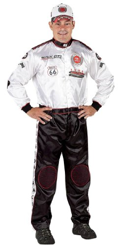 Aeromax Mens Fire Fighter Suit Adult Costume