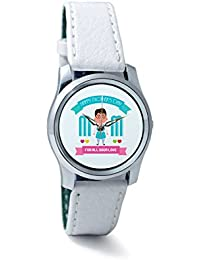 BigOwl Mom For All Your Love Women's Analog Wrist Watch 2239214536-RS2-S-WHT