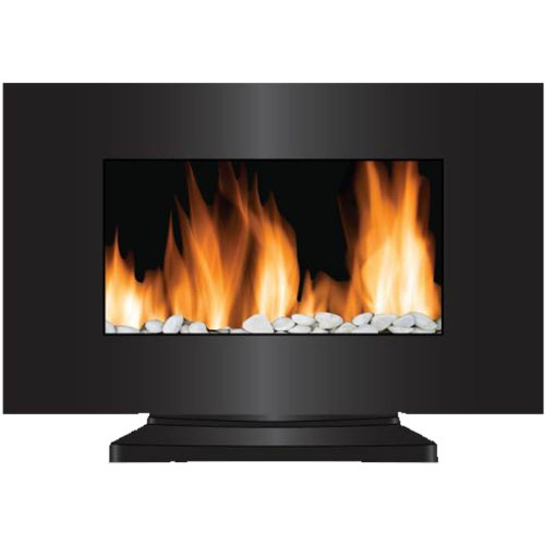 Frigidaire VWF-10305 Vienna 2-in-1 Wall Hanging & Floor Standing LED Fireplace with Color-Changing Flame - Black picture B008FX4XDO.jpg