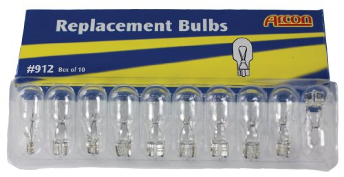 Arcon 15755 Replacement Bulb #912, (Box Of 10)
