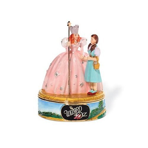 Wizard of Oz Collectible Jeweled Trinket Box: No Place Like Home