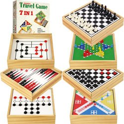 7-in-1 Magnetic Travel Game Set by Trademark GamesT. Product Category: Toys & Games > Games