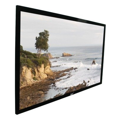 Elite Screens R158WH1-WIDE ezFrame Fixed Projection Screen (158