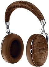 【国内正規品】Parrot Zik 3 密閉型ワイヤレスヘッドホン ノイズキャンセリング Bluetooth NFC Qiワイヤレス充電 Apple Watch対応 Brown Crocodile PF562033
