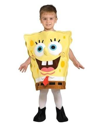amazoncom spongebob deluxe toddler costume toddler