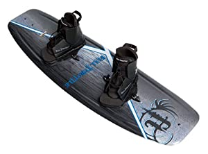 Buy Full Throttle Aqua Extreme Wakeboard Kit (Black Blue, 55.1 x 21.6-Inch  140cm x 42cm) by Absolute Outdoor