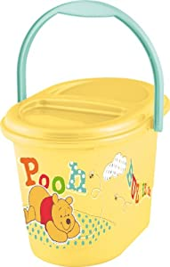 "OKT Kids 11800208054 - Cubo para bebé, diseño de ""Winnie the pooh"", color amarillo por OKT Kids"