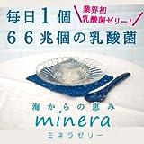 【minera】ミネラゼリー 6日間お試しコース (6個入り) (ピーチ) [天然ミネラル酵素&乳酸菌ゼリー] [ヘルスケア&ケア用品]