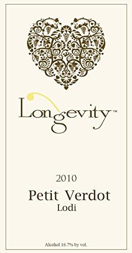 2010 Longevity Lodi Petit Verdot